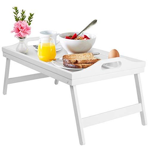 Betttablett Tisch Frühstücksteller Tablett mit...
